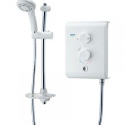 Triton T80Z Electric Shower White and Chrome - SP8007Z